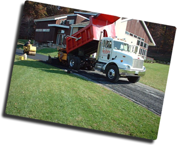 Laying Down New Asphalt